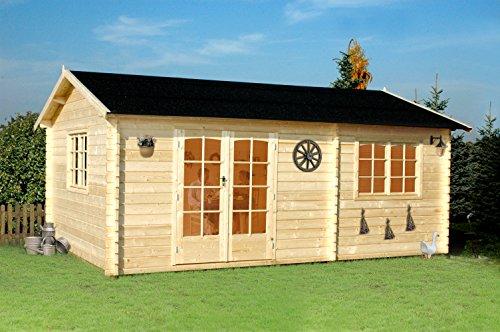 GartenPro Arkansas - casetta in legno da giardino colore abete naturale