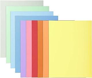 Exacompta - Réf. 330100E - Paquet de 10 chemises Super 210 carte rigide format 24x32 cm 210 grammes pour documents A4 - co...