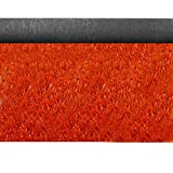Jinxiaobei Gräser Outdoor Kunstrasen Farbiger Kunstrasen Kunstrasen Geeignet for Innen- und Außendekoration Kunstrasen auf Farbiger Landebahn. Stärke 230mm, Rotgelb (Color : Red 20mm, Size : 1.5mX2m)
