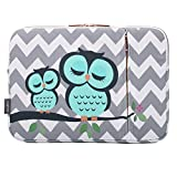CoolBELL 13.3 Inch Laptop Sleeve Case Bag with Front Accessories Pocket for Ultrabook Like Acer/MacBook Pro/MacBook Air/Asus/Dell/Lenovo