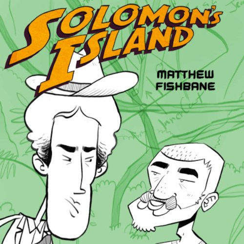 Solomon's Island audiobook cover art