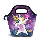VimcustomPr Unicornio Nebulosa Galaxy Bolsa de almuerzo Picnic...