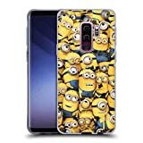Official Despicable Me Pattern Funny Minions Soft Gel Case Compatible for Samsung Galaxy S9+ / S9 Plus