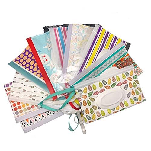 Caja de toallitas húmedas portátiles para bebés Contenedor de toallitas Respetuoso del medio ambiente, fácil de transportar, toallitas de limpieza cosmética, estuches 23 * 13.5CM-smile face, China