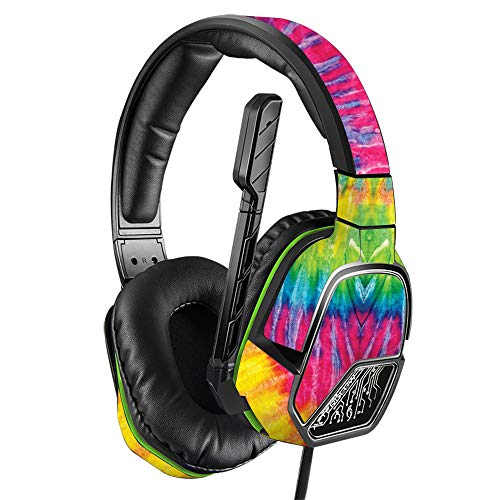 MightySkins Skin Compatible with PDP Xbox One Afterglow LVL 3 Headset - Tie Dye 2   Protective, Durable, and Unique Vinyl Decal wrap Cover   Easy to Apply, Remove, and Change Styles   Made in The USA