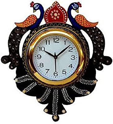 vkcollection analog wall clock (multicolor)
