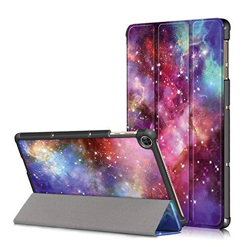 XITODA Custodia per Huawei MatePad T10 AGR-L09 AGR-W09 9.7''/MatePad T10S AGS3-L09 AGS3-W09 10.1'',Protezione in PU Pelle Cover per Huawei MatePad T 10/ T 10S Tablet,Galassia