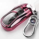 Car Key case-TPU for Buick Luxury 2 3 4 5 Buttons TPU Smart keyless Entry Remote Key Fob case Cover for Buick Verano Regal Lacross Envision Encore Enclave GL8 2015 2016 2017 2018,with Keychain