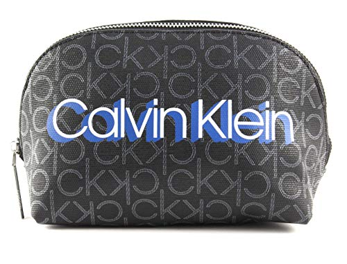 Calvin Klein Monogram Make-Up Bag Black Monogram