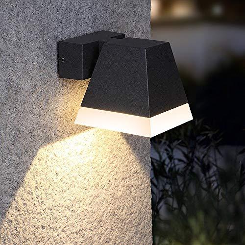 Moderne Extérieur Mur Lampe ip44 terrasses véranda cour Lampe de jardin métal marron