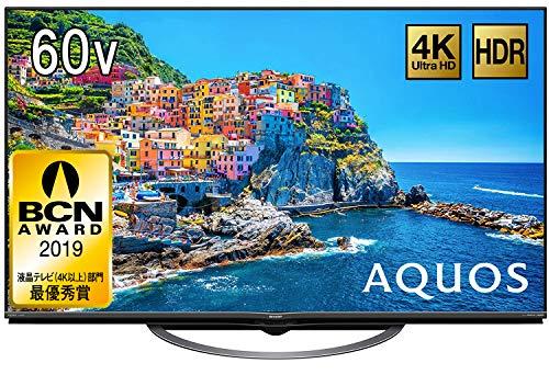 シャープ 4K対応液晶テレビ AQUOS 4T-C60AJ1
