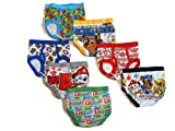 Little Boys' Toddler Paw Patrol Brief, Pack of Seven, 2T/3T