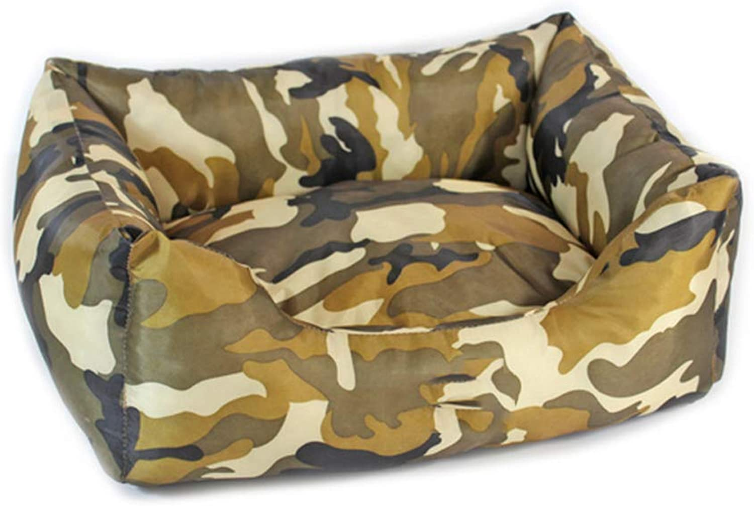 Four Seasons Universal Camouflage Oxford Cloth Pet Nest MultiSize Dog Bed,85  60  22cm