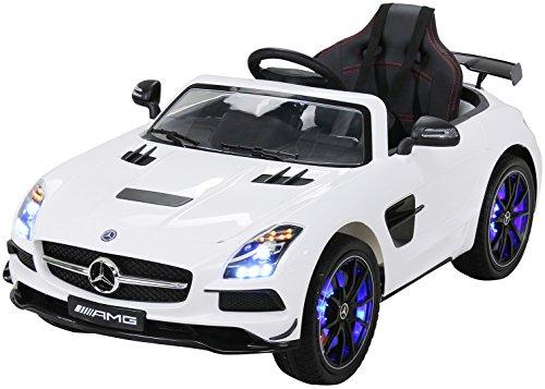 Actionbikes Infantil Coche eléctrico Mercedes SLS AMG Deluxe con Licencia 2 x...
