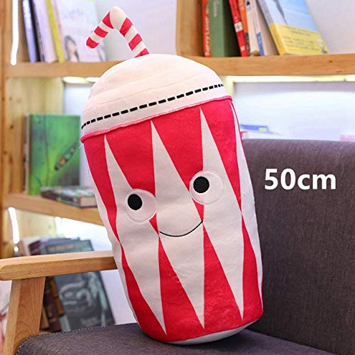 Neue Simulation Fast Food Kissen Milky Tea Chip Pizza EIS Plüsch Spielzeugkissen Kawaii Weich Gefüllte Super Qualität Kindergeschenk 50cm J.