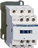 Schneider CAD32Q7 Contattore Ausiliario 380, Bianco