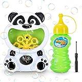 RenFox Seifenblasenmaschine für Kinder, Panda Form Kinder automatische Blasenherstellung Maschine, Spielzeug und Geschenke für Jungen und Mädchen, Blasenmaschine für Spiele im Innen- und Außenbereich