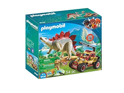 PLAYMOBIL Explorer Vehicle with Stegosaurus Building Set