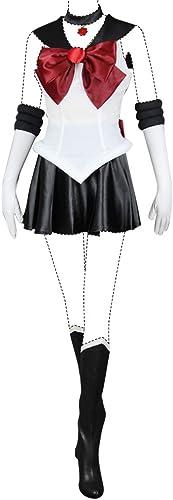encuentra tu favorito aquí Sailor Moon Cosplay Costume Sailor Pluto Setsuna Meioh Costume Set Set Set All  Precio por piso