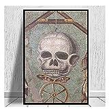 Bxygml Memento Mori Mosaik Aus Pompeji Leinwanddrucke