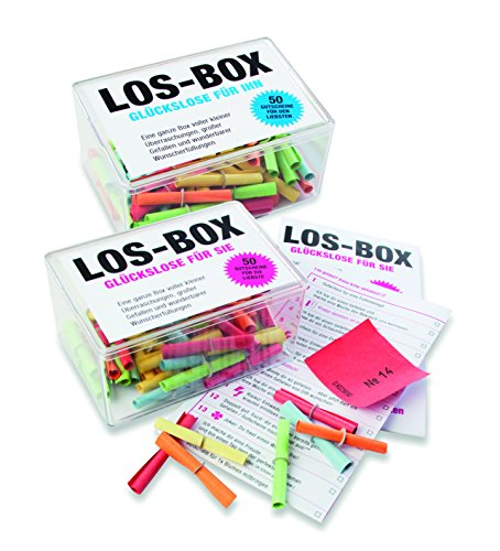 Los Box für Sie / Box mit 50 Nummernlosen: Eine ganze Box voller kleiner Überraschungen, großer Gefallen und wunderbarer Wunscherfüllungen