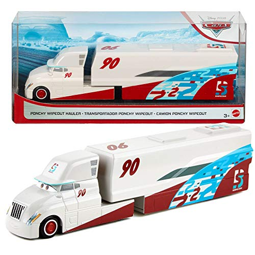 Disney Pixar Cars World of Cars Exclusive Ponchy Wipeout Hauler 1:55 Scale