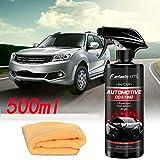 TOMATION 500 ml Nano-Autolack, Autolackspray Autokeramik-Autokonzept,Nano Versiegelung Auto Hightech...