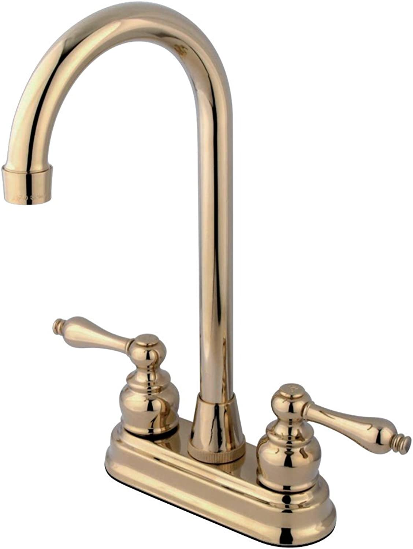 Elements Of Design Eb492Al Twin Brass Bar Faucet