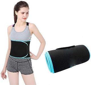 02f703babed MZjJPN Waist Trimmer Weight Loss Ab Belt Fat Adjustable Body Fitness Belts  Fat Burning Belt Waist