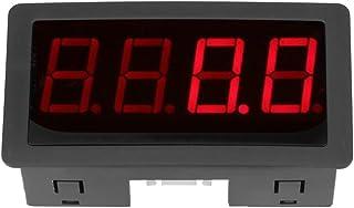 Tachymètre numérique à 4 LED rouges/bleues, compteur de vitesse RPM + capteur de commutateur de proximité NPN Hall pour af...