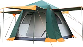 Star Home Waterproof Camping Tent For Kids,Automatic Backpacking Outdoor Tent Sports,3-4 Person Family Tent Easy Set up