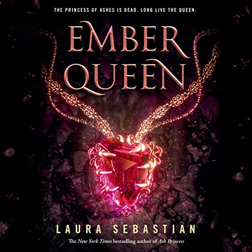Ember Queen audiobook cover art
