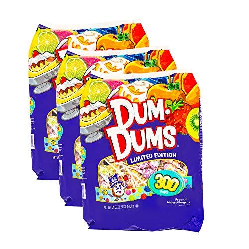 Dum Dums Limited Edition 300 count bag Pack of 3