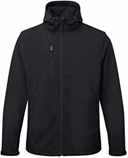 New Mens Softshell Fleece Waterproof Windproof Fabric Thermally Lined Jacket Warm Comfortable Casual Black Heavy Durable F...
