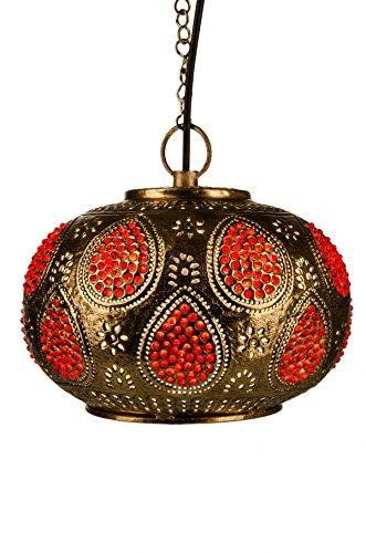 Oosterse Marokkaanse Arabische metalen plafondlamp hanglamp lamp lamp Adnan - 24 cm