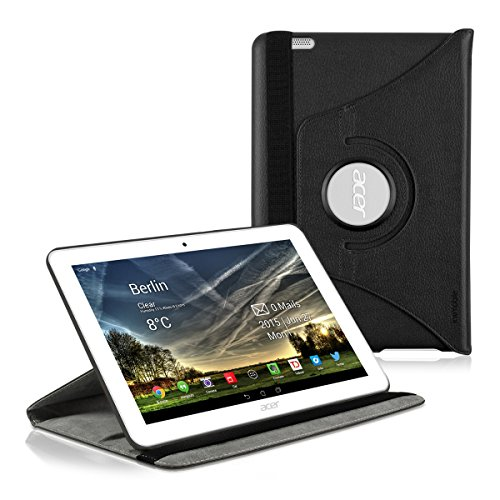kwmobile Hülle kompatibel mit Acer Iconia Tab 10 (A3-A20) - 360° Tablet Schutzhülle Cover Case
