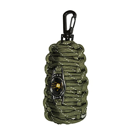 12 Survivors Fish and Fire Emergency Kit, Green (TS24000)