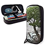 Yuanmeiju Surreal Works Estuche for Boys and Girls Large Pencil Pouch Holder Pen Case for Student College School Supplies & Office