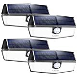 LITOM Premium Solar Lights Outdoor (4 Pack)