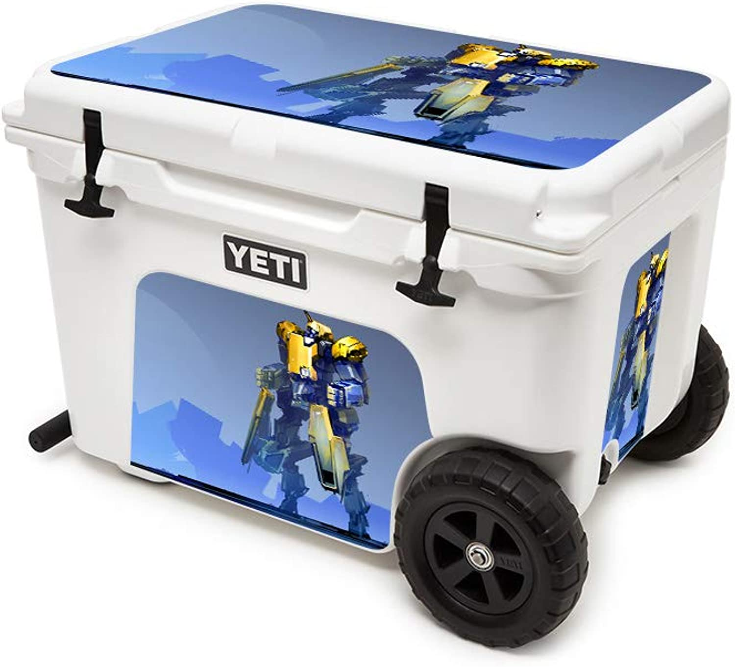 MightySkins Skin Compatible with Yeti Tundra Haul Cooler  Clank   Predective, Durable, and Unique Vinyl Decal wrap Cover   Easy to Apply, Remove, and Change Styles   Made in The USA