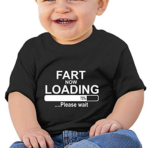 Fart Now Loading 6-24 Months Baby Boys Baby Girls Summer T-Shirts