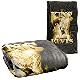 Elvis Presley The King Silky Touch Super Soft Throw Blanket 36' x 58'