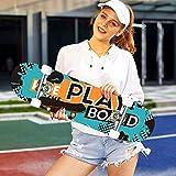 Zoom IMG-2 hikole skateboard completo pro 31