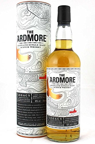 Ardmore Legacy Single Malt Whisky 0,7 Liter + 2 Glencairn Gläser
