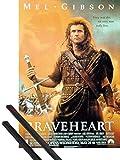 1art1 Braveheart Poster (98x68 cm) Mel Gibson, Sophie
