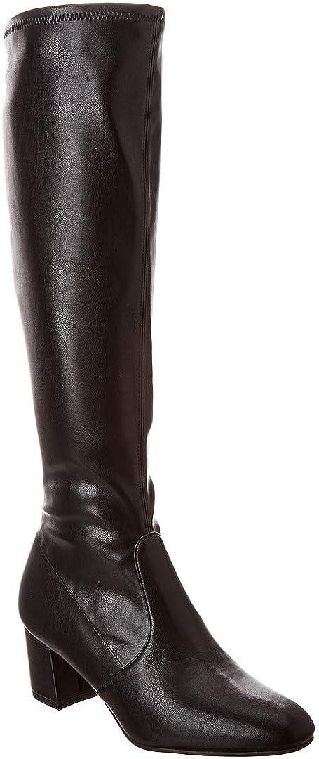 Stuart Weitzman Frannie 60 Stretch Leather Knee High Boots Size 11
