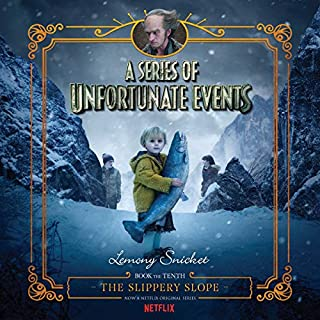 The Slippery Slope     A Series of Unfortunate Events #10              Auteur(s):                                                                                                                                 Lemony Snicket                               Narrateur(s):                                                                                                                                 Tim Curry                      Durée: 6 h et 1 min     6 évaluations     Au global 4,7