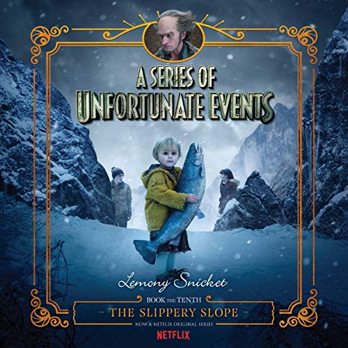 The Slippery Slope audiobook cover art