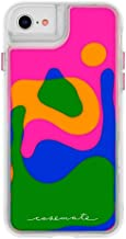 iPhone 8 Case Cascading Liquid Glitter - Protective Design for Apple iPhone 8 Waterproof Phone case IP 8 IP 6s Phone case IP 6 Phone case 6s Plus Lava Lamp iPhone 8