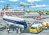 xvhsx puzzles1000 Piezas Adultos Classic decoración del hogar Regalo niño Juguetes Alivie el estrés DIY Aeropuerto